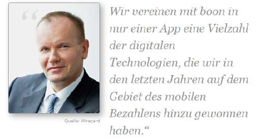 Wirecard-Vorstand Braun mit Zitat