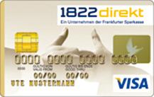 1822direkt Gold Kreditkarte