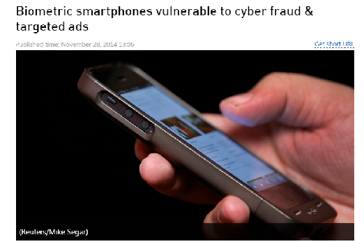 Screenshot Reuter News