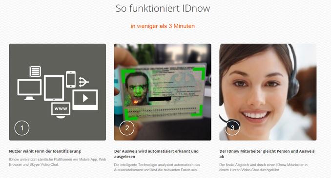 IDnow Screenshot
