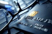 Kreditkarte mit EMV-Chip