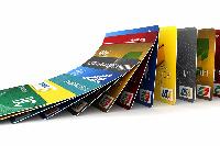 Vielfalt von Kreditkarten