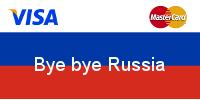 Kreditkartenanbieter VISA droht mit Russland-Rückzug