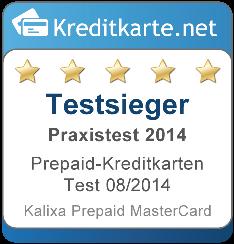 Testsieger Praxis Prepaid Kreditkarten Test 2014