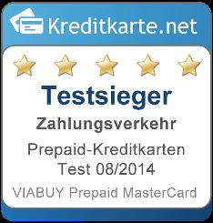 Testsieger Zahlungsverkehr Prepaid Kreditkarten 2014 1