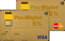 ADAC Kreditkarte Gold – Doppel