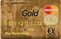 Advanzia Bank MasterCard Gold Kreditkarte