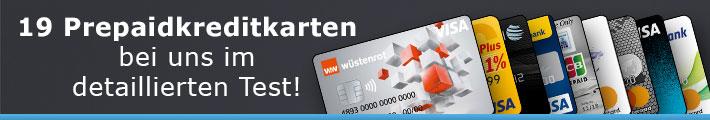 19 Prepaid Kreditkarten im Test 2018