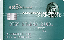 BCD Travel American Express Corporate Card