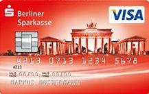 Die Berliner Sparkasse VISA Prepaid (ab 12 Jahren)