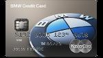 graue BMW Kreditkarte