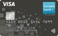 schwarze Visa-Kreditkarte der Consorsbank