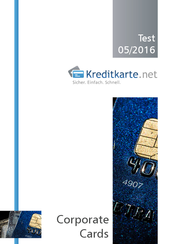 Deckblatt zur PDF Corporate Cards Test 2016