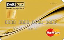 DAB Bank MasterCard Gold
