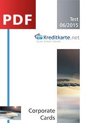 Download - PDF zum aktuellen Corporate Cards Test