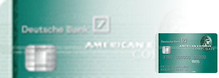Unterschrift American Express Karte.Deutsche Bank Amex Corporate Card Im Test