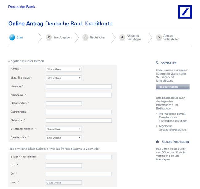 Deutsche Bank Einzahlung