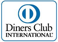 Aufschrift Diners Club International