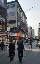 Bild Einkaufsstraße Seoul