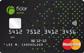 schwarze Prepaid-Kreditkarte der Fidor Bank