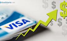 VISA mit Gewinnanstieg im 3. Geschäftsquartal