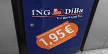 Freistehender ING-DIBa Geldautomat