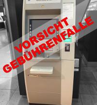 Geldabhebung an Automaten kann Fremdkunden teuer zu stehen kommen