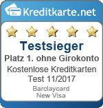 Kostenlose-Kreditkarten-Testsieger-ohne-Girokonto-Barclaycard