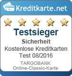 Siegel Sicherheit TARGOBANK Online-Classic-Karte