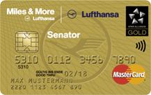 Lufthansa Miles & More Senator Credit Card (World Plus)
