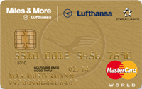 Lufthansa Miles & More Credit Card Gold World