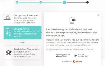Screenshot Verifizierung
