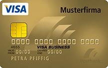 Postbank VISA Business Card Gold
