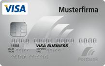 Postbank VISA Business Card Classic