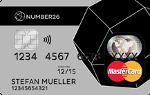 Transparente Kreditkarte von N26