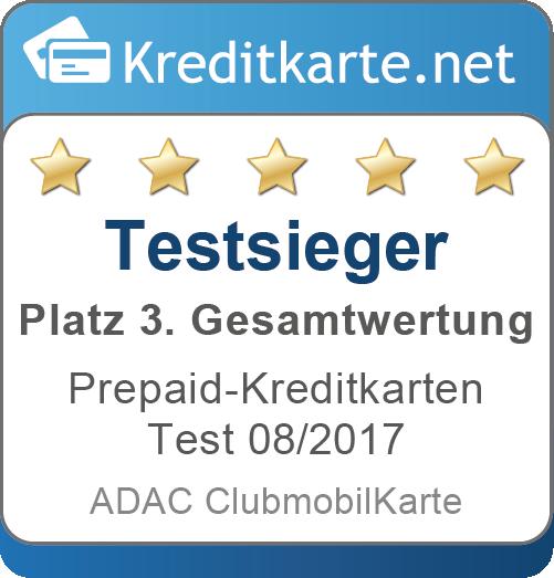 ADAC Testsieger Platz 3 in Gesamtbewertung