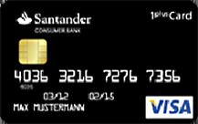 Santander 1plus Visa-Card