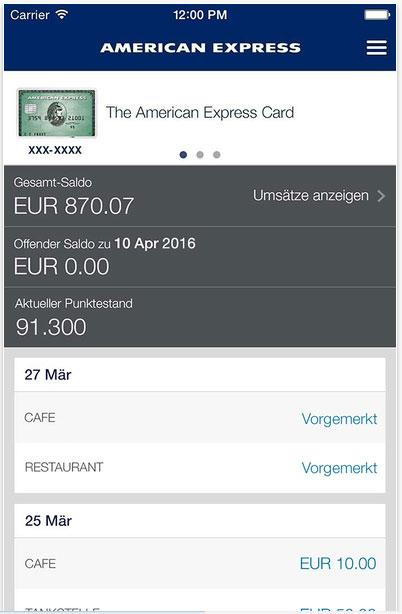 Unterschrift American Express Karte.Die American Express Blue Card Kreditkarte Im Test
