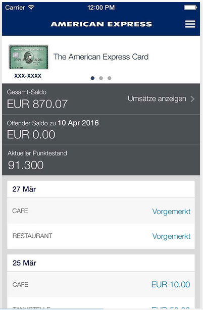Unterschrift American Express Karte.Die American Express Payback Card Kreditkarte Im Test