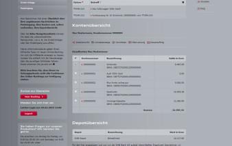Online-Banking Audi Bank Visa Card pur