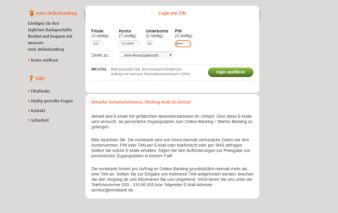 Online-Banking norisbank MasterCard