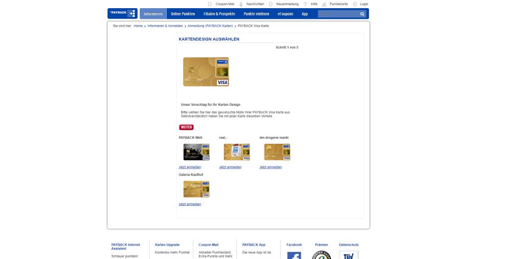 Payback Visa Karte.Payback Karte Vorteile Amazing Die Besten Grnen Onlineshops With