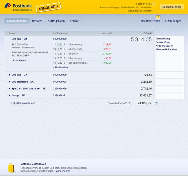 Buchungszeiten Fidor Bank