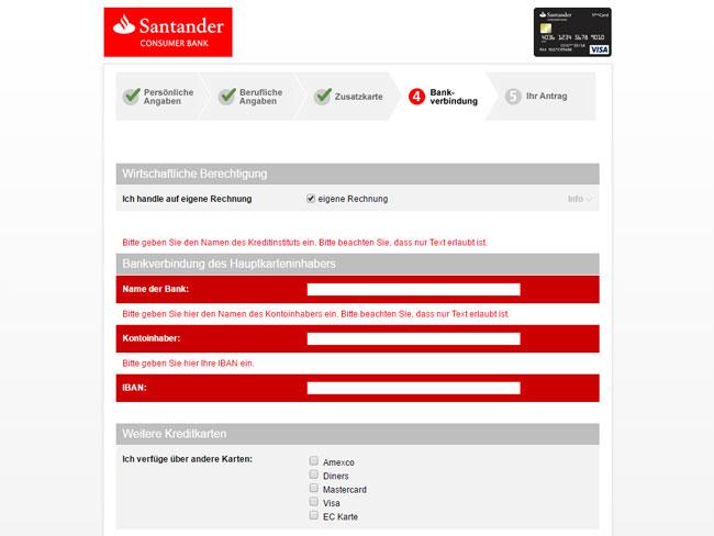 Iban Santander Bank