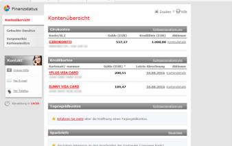 Online-Banking Santander 1plus visa Card
