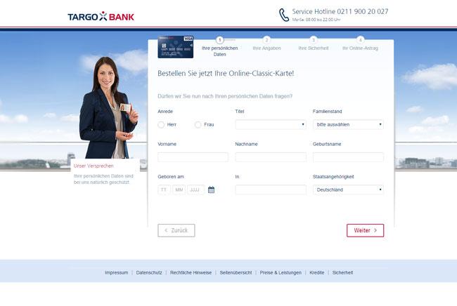 der targobank online kredit berzeugt im test durch seine konditionen name der bank targobank ag co - Targobank Bewerbung