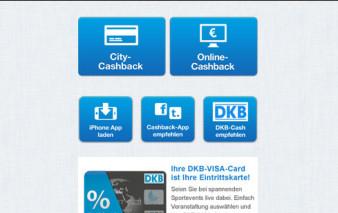 Screenshot DKB-Cashback App