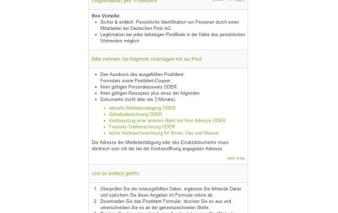 Screenshot Postident Verfahren Fidor Bank