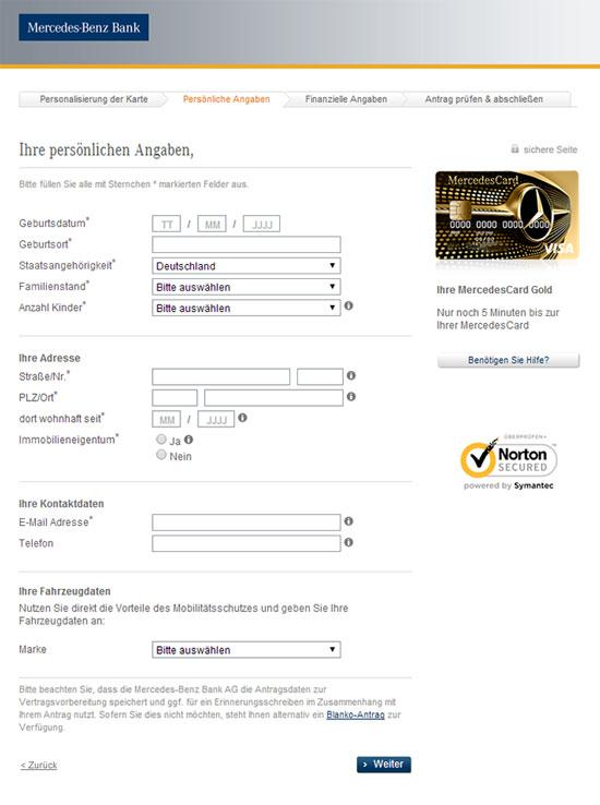 MercedesCard Gold Im Test