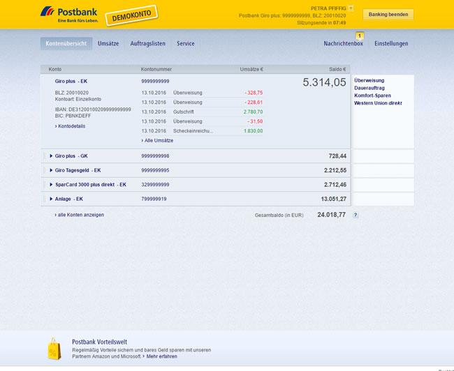 Karte Sperren Postbank.Postbank Giro Start Direkt Mit Prepaid Kreditkarte